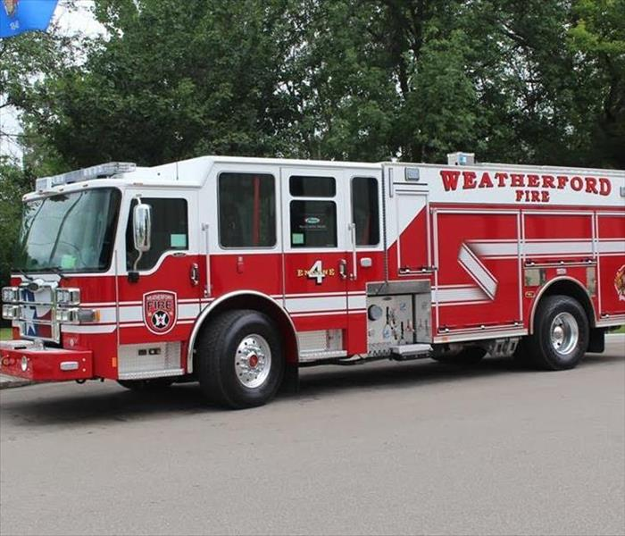 Weatherford Fire Truck